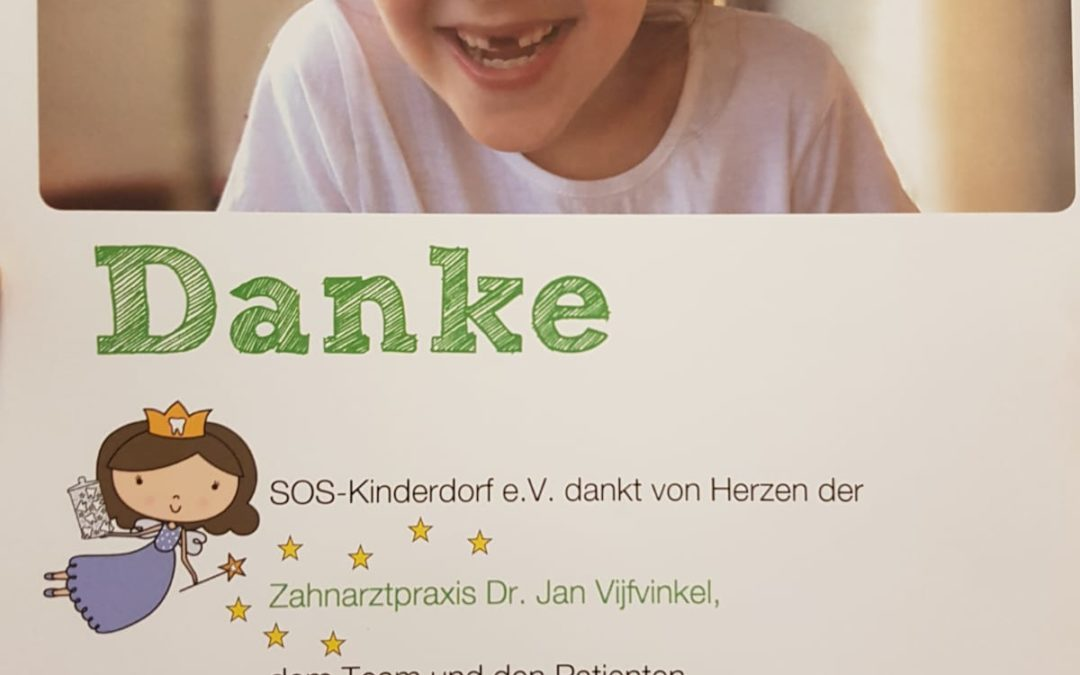 Das SOS-Kinderdorf dankt von Herzen
