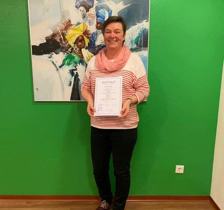 Zertifikat für Michaela Nee - Zahnmedizinische Fachangestellte Prophylaxe